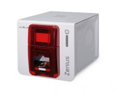Evolis Zenius ID Printer, USB, Single Sided
